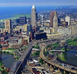 Cleveland in Ohio location de voiture, USA