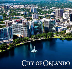 Downtown Orlando location de voiture, USA
