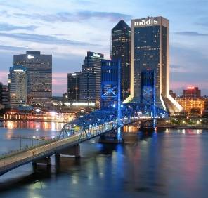 Jacksonville in Floride location de voiture, USA